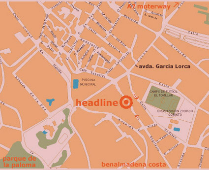Location of hairdresser  in Benalmadena - Malaga